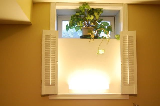 Image Result For Egress Window With Curtains Basement Windows