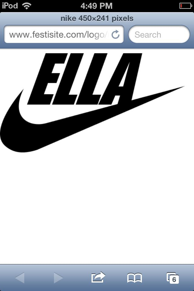 Nike logo edit for best my best friend!