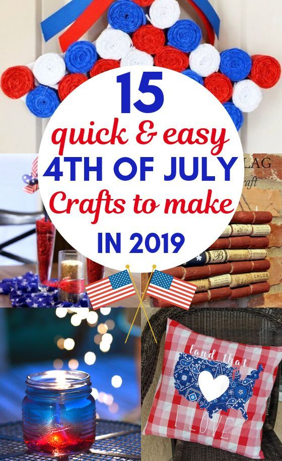 15 Easy 4th of July Crafts to Sell For Crazy Extra Cash #craftstomakeandsell