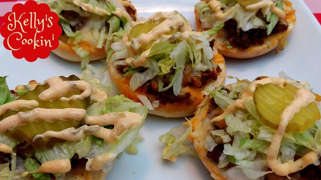 Big Mac Bagel Bites Recipe Air FryerCook's Essentials