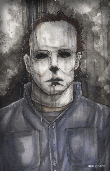 Michael Myers Halloween Night Pencils Michael Myers Drawing