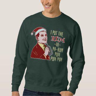 Funny Ugly Christmas Sweater Retro Rum Man Humor | Holidays ...