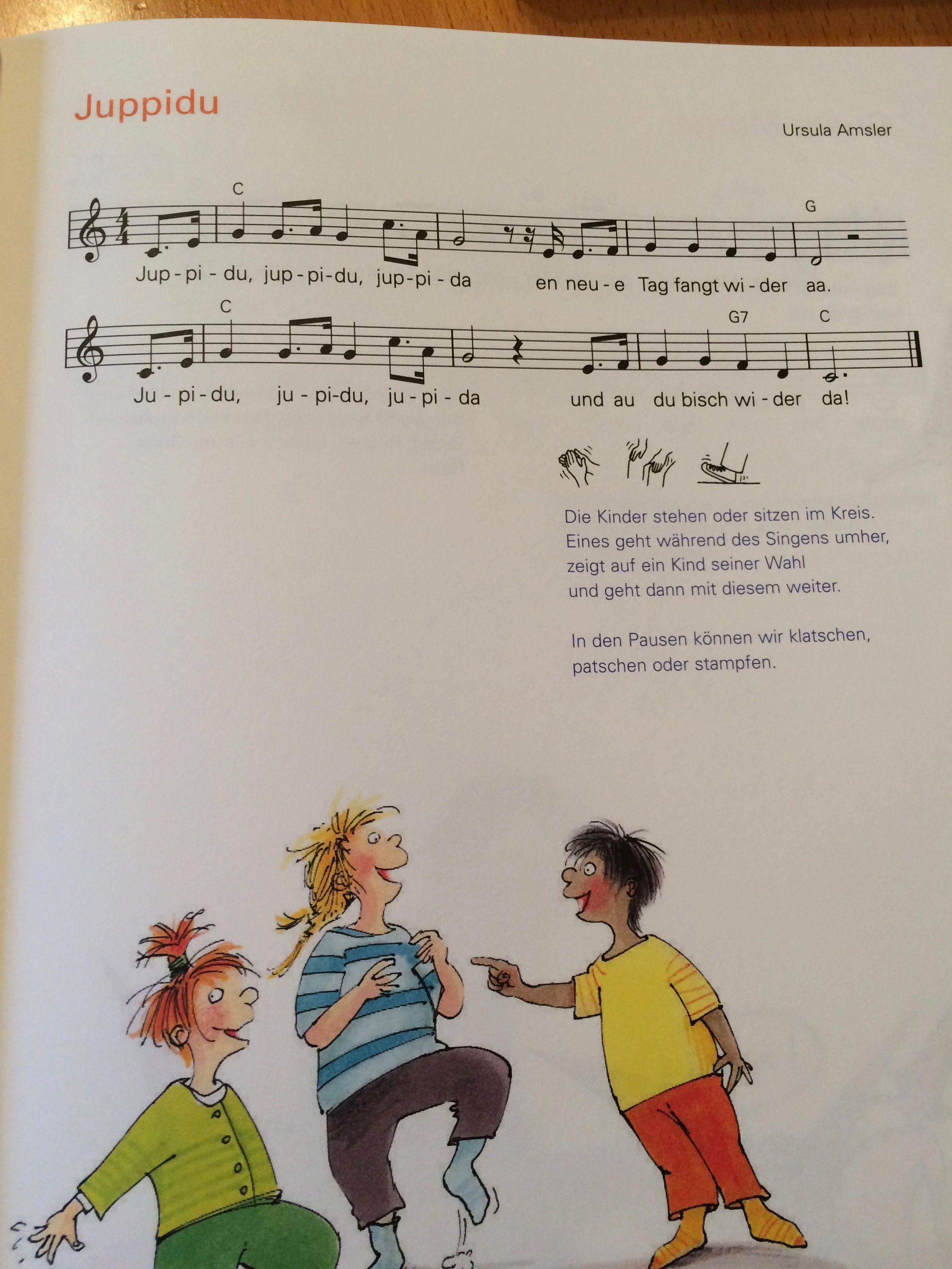 Jupidu En Neue Tag Kindergarten Lieder Kinder Lied Kinderlieder