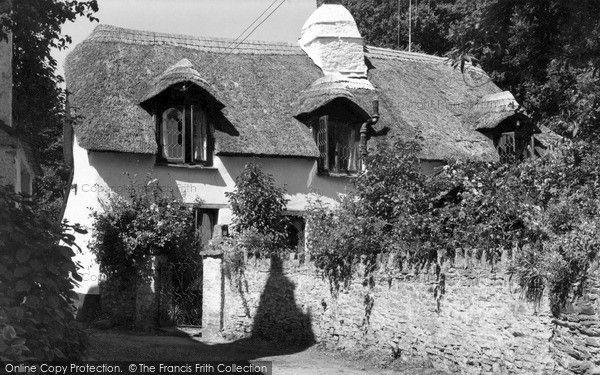 Croyde, Manor Cottage c.1960