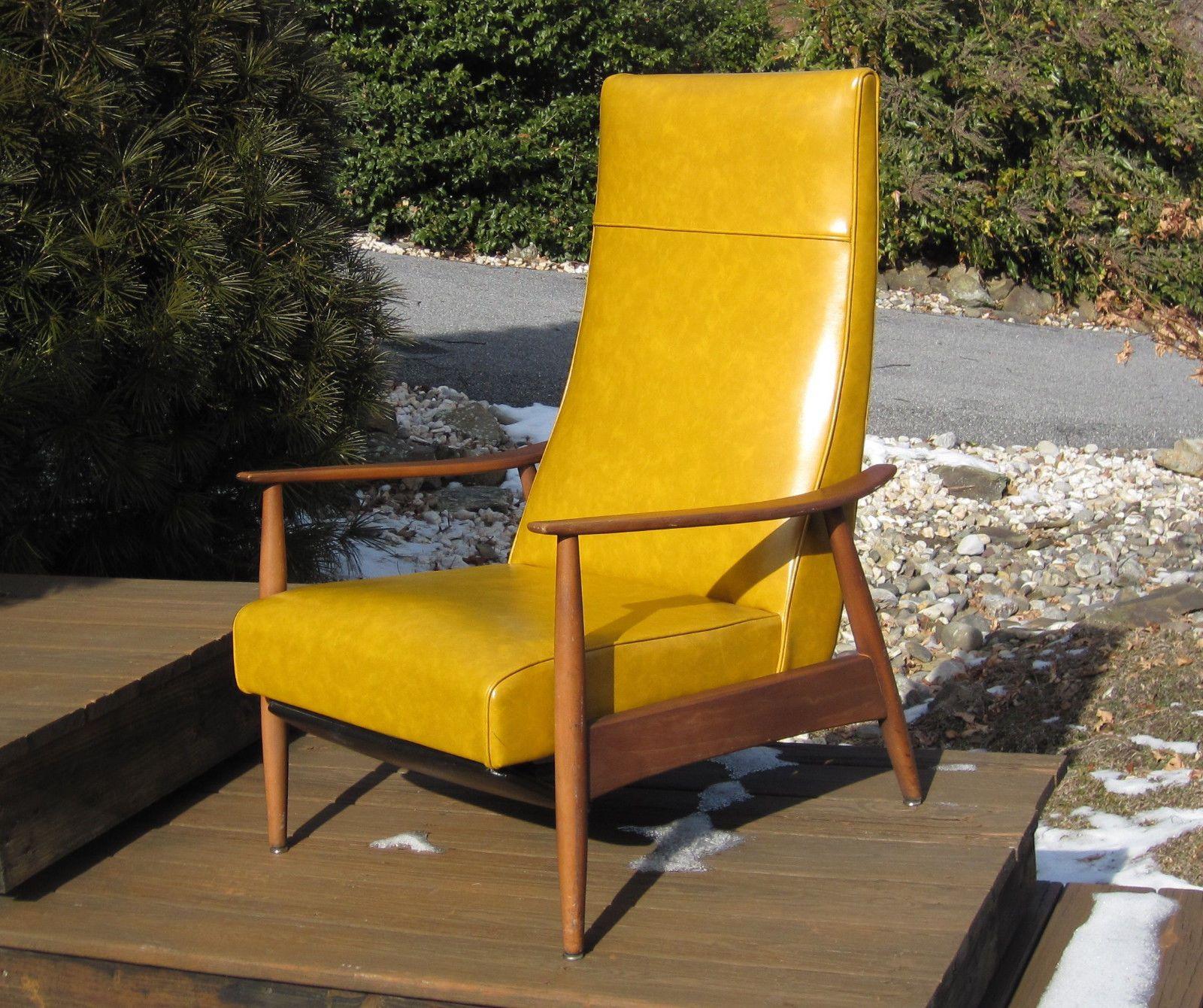 Mcm Baughman Accent Chair: MCM Milo Baughman Reclining Lounge Chair For James Danish