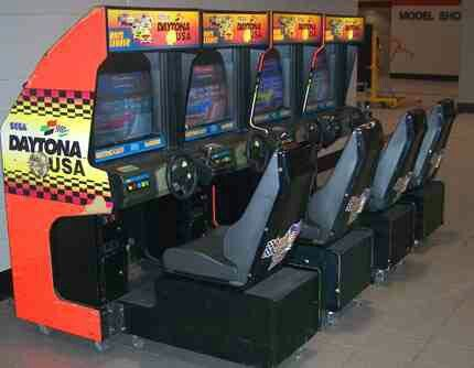 Loved Challenging My Friends To A Race On The Daytona Usa Arcade
