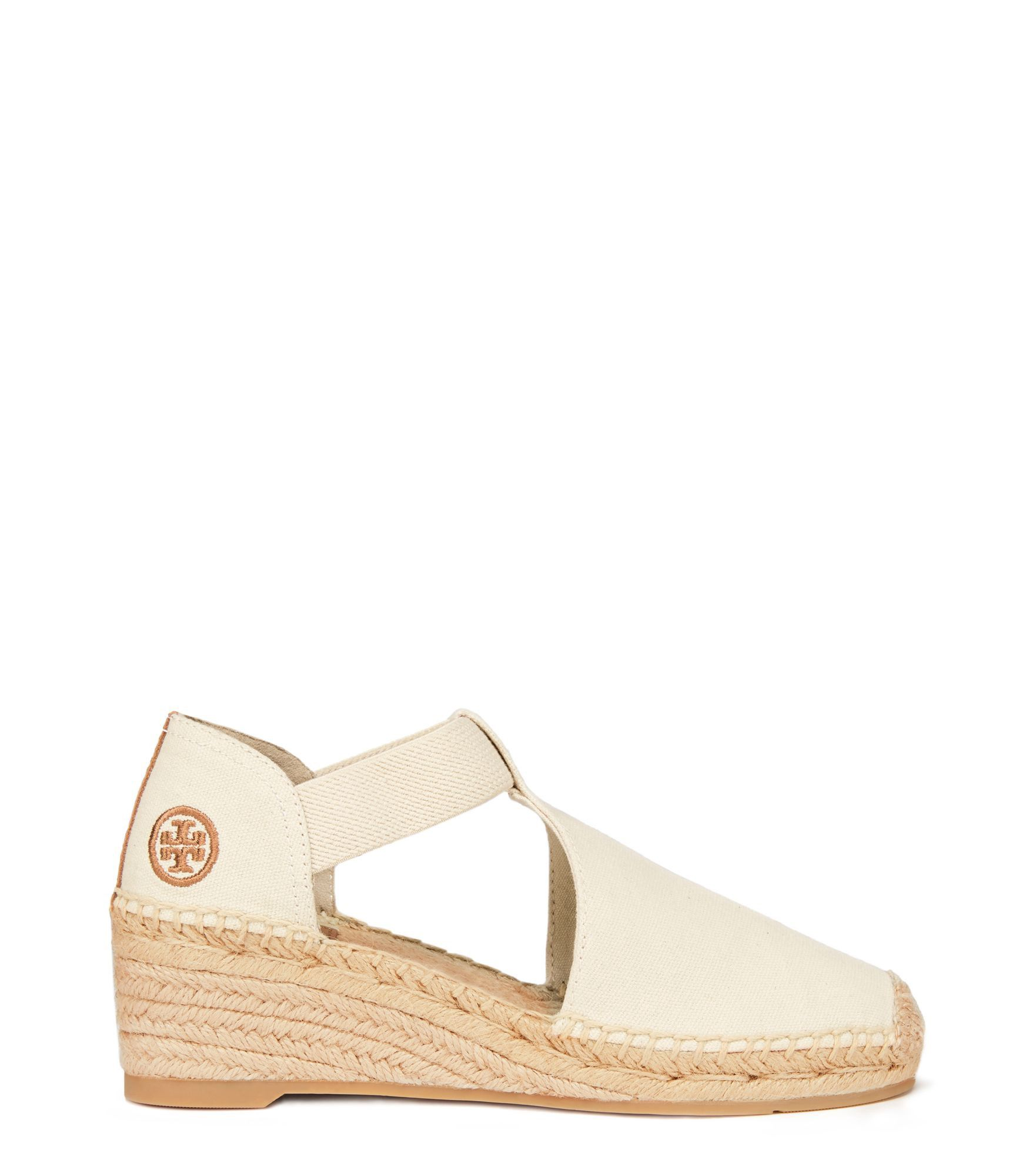 TORY BURCH CATALINA ESPADRILLE WEDGE SANDAL. #toryburch #shoes #all.  Alpargata ...