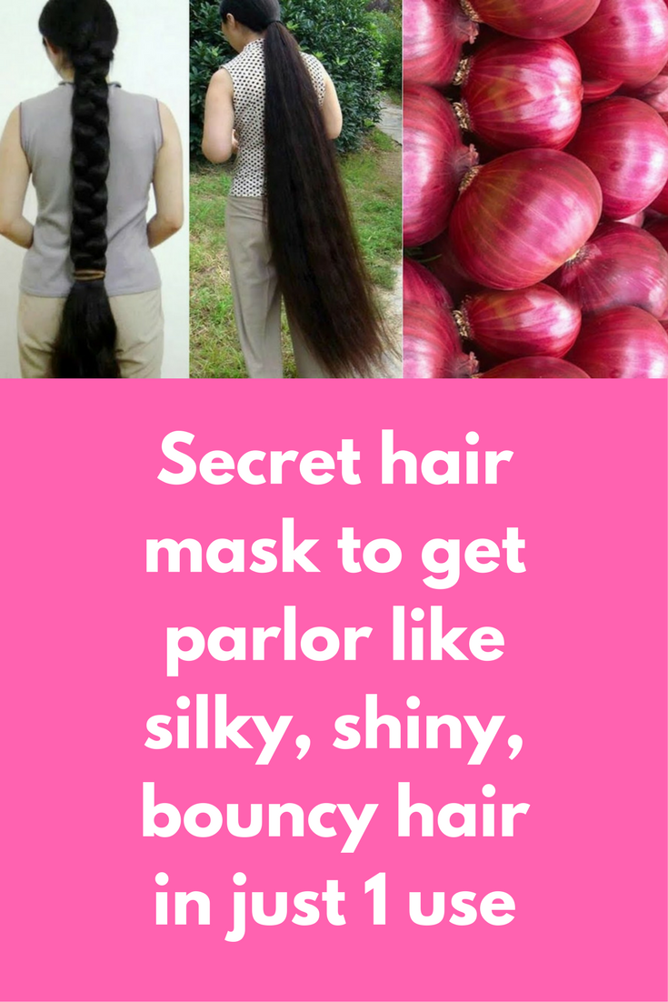 Secret Hair Mask To Get Parlor Like Silky Shiny Bouncy Hair In Just 1 Use If You Are Not Born With Naturally Long Silky Bouncy Hair Shiny Hair Onion For Hair