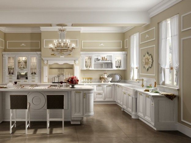 Arredare una cucina all\'americana | Cucina in muratura ...