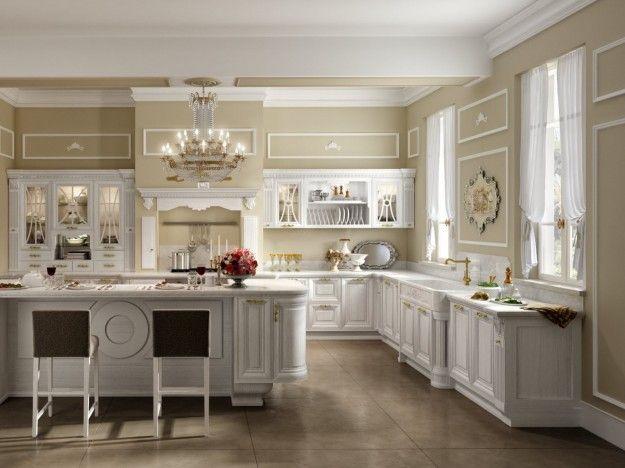 Arredare una cucina all\'americana - Mobili eleganti per la cucina ...