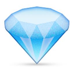 Gem Stone Emoji U 1f48e U E035 Diamond Emoji Emoji Blue Emoji