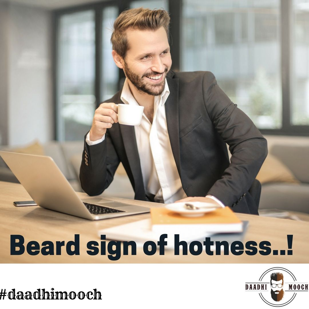 Beard sign of hotness..! daadhimooch beards Business