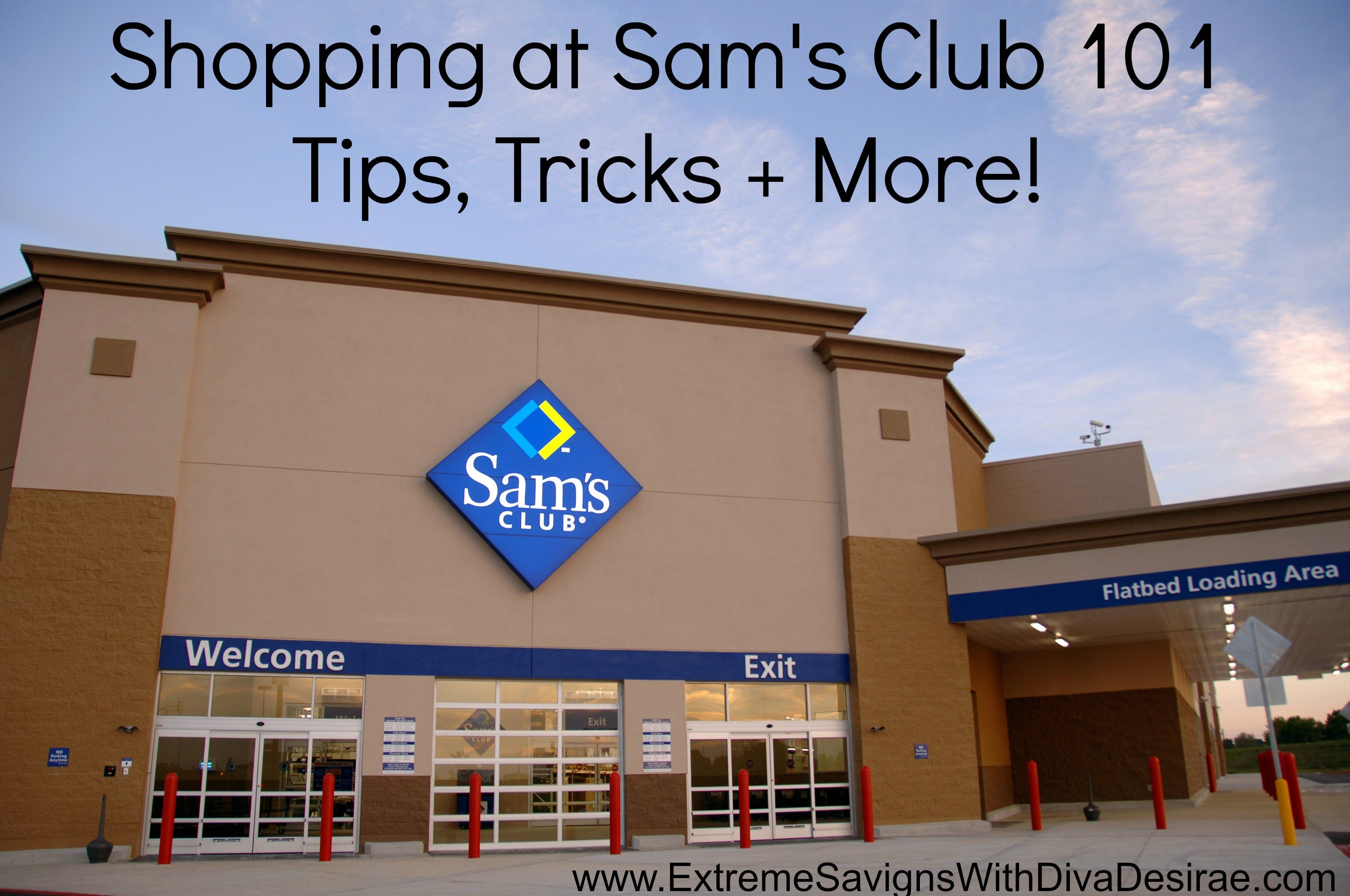 I am a huge Sam's Club shopper and I am constantly asked