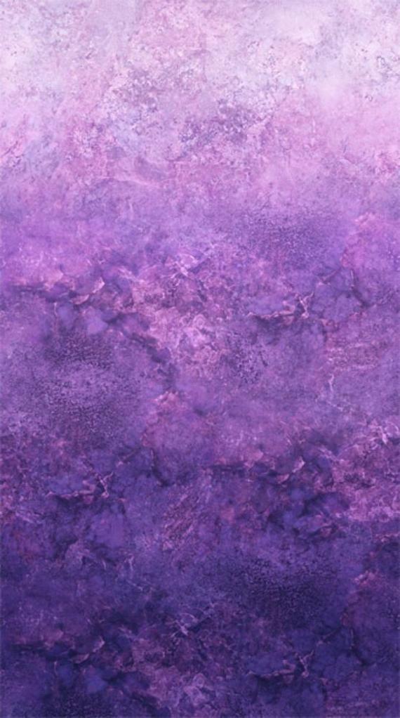 Amethyst Stonehenge Ombre - Northcott Cotton Fabric
