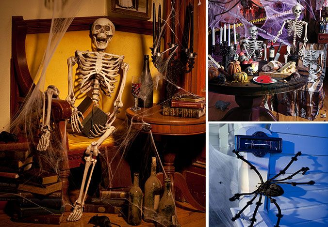 Decorating With Skeletons Skeletons, Skeleton halloween costume - halloween decorations skeletons