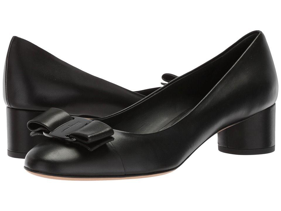 Salvatore Ferragamo Ivrea CT High Heels Nero New Nappa VI   Products ... 7c8939b601