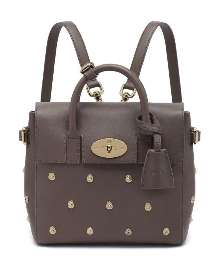 Pin for Later: Noch immer skeptisch einem Rucksack gegenüber?  Taupe-farbenes Leder mit Nieten (€1.980)