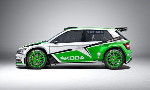 Skoda Fabia R5 2015 Erste Fotos Skoda Autozeitung Und Autodesign
