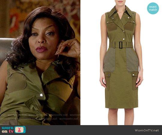 d621447e0d3 Cookie s green moto dress on Empire. Outfit Details  http   wornontv.