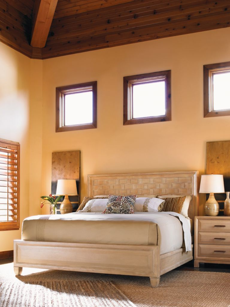 california king new caledonia bed lexington tommy bahama home rh pinterest com Used Furniture Beds Discontinued Thomasville Beds