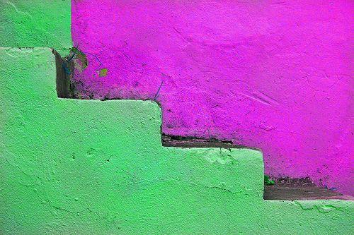 ESCALERA VERDE (GREEN STAIRS)