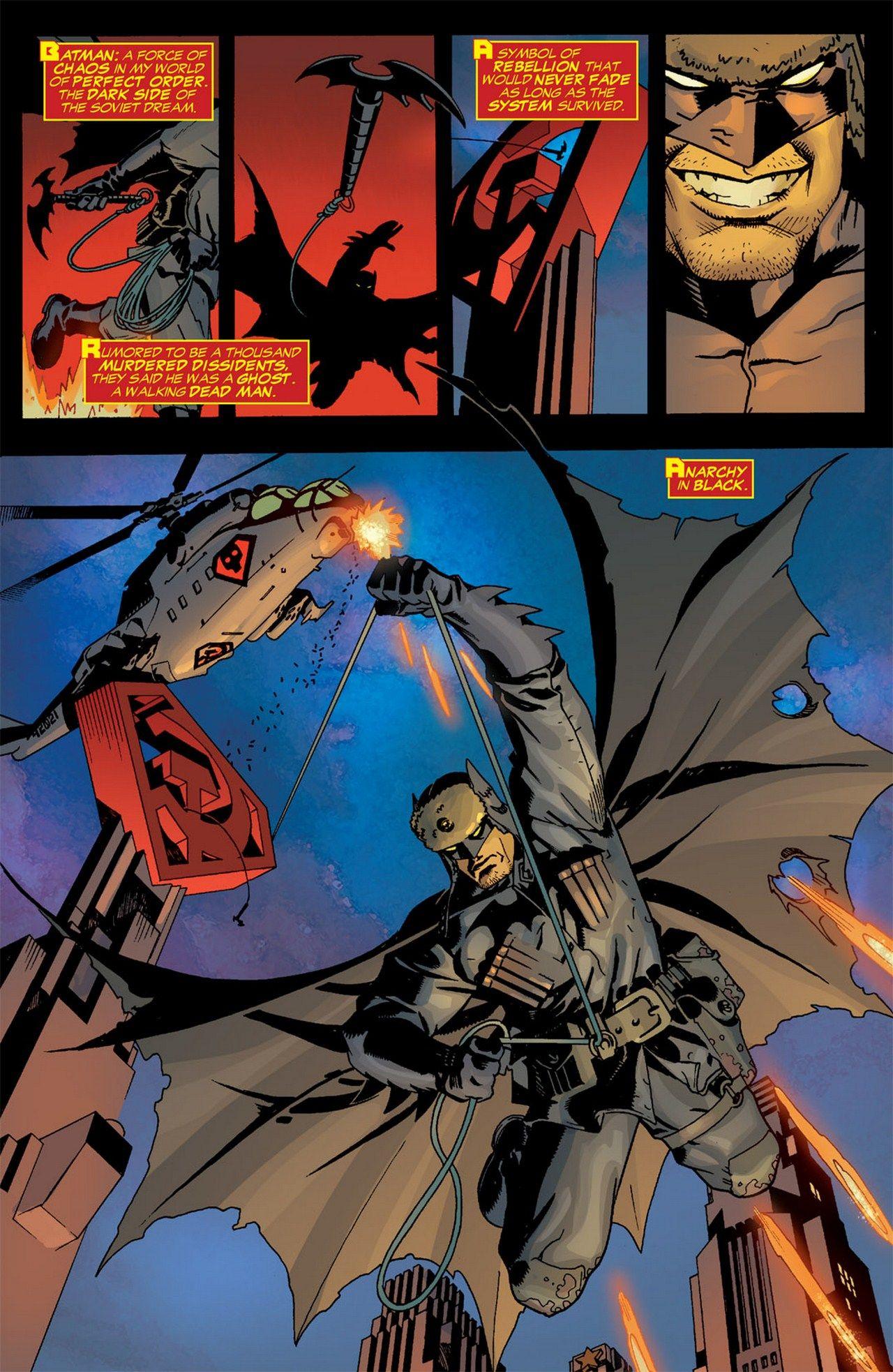Superman Red Son 02 Page 11 Batman Y Superman Superman Hijo Rojo Batman