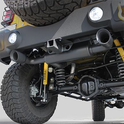 Fortec Dual Exhaust System By Magnaflow For 07 16 Jeep Wrangler Jk Jk Unlimited Jeep Wrangler Jk Jeep Wrangler Jeep Accessories