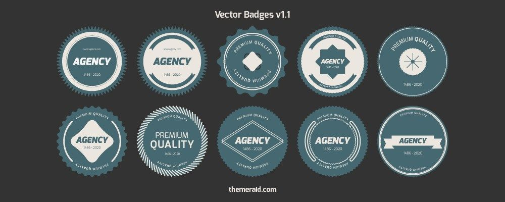 30 Free Vector Psd Badge Sets For Web And Graphic Designers Free Badges Psd Template Free Vector Free