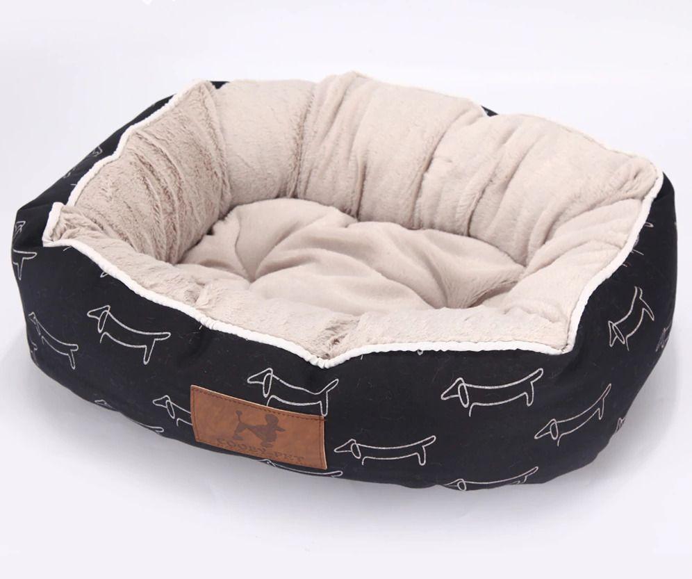 Cama Para Perro Y Gato Impermeable En Su Exterior Y Super Suave En Su Interior Ebay Puppy Dog Beds Puppy Beds Cozy Dog Bed