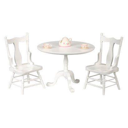 Excellent American Girl Doll Accessories Tea Table Furniture Faux Machost Co Dining Chair Design Ideas Machostcouk