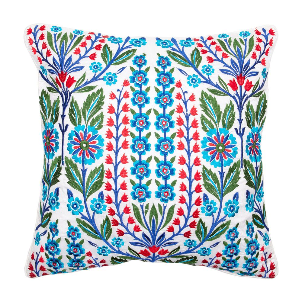 coussin broderie florale zara home france art deco pinterest productos. Black Bedroom Furniture Sets. Home Design Ideas
