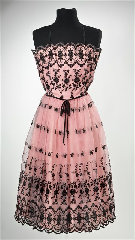 Now that is my kind of dreamy girly dress. :) Early Betsy Johnson Dress