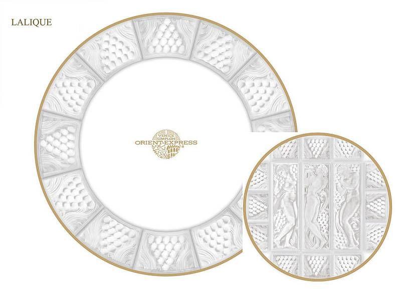 Villeroy & Boch Porcelain designed for the Orient Express
