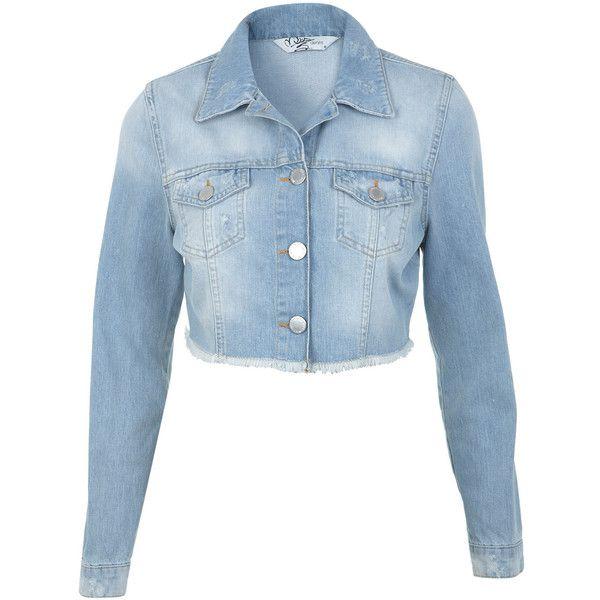 Denim 35 Jacket Selfridge Wash Miss Light Cropped I6xwaqBHS