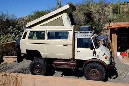 Photo Mercedes Benz Unimog Expedition Vehicle Camper