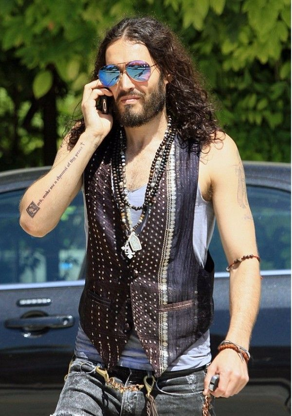Russel Brand - boho at ♥ | ⫸ A MAN`S WORLD ⫷ | Russell ...