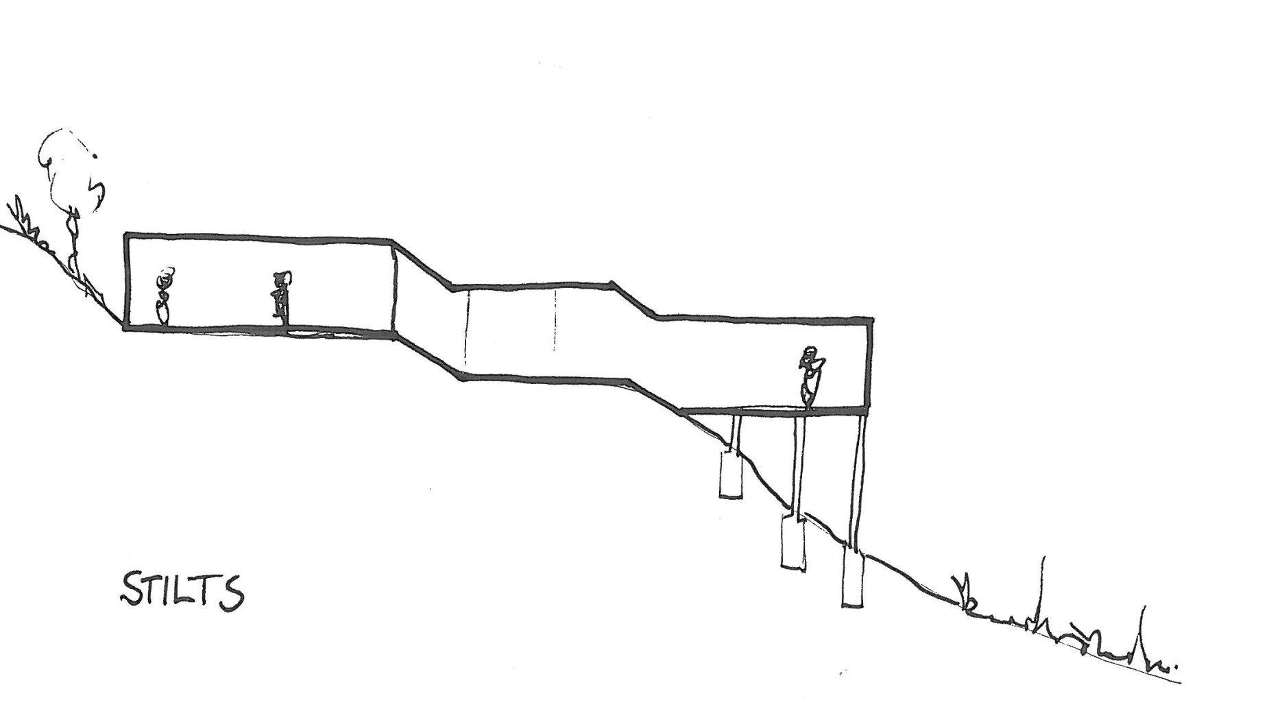 building on stilts | Casas Modernas | Pinterest | House