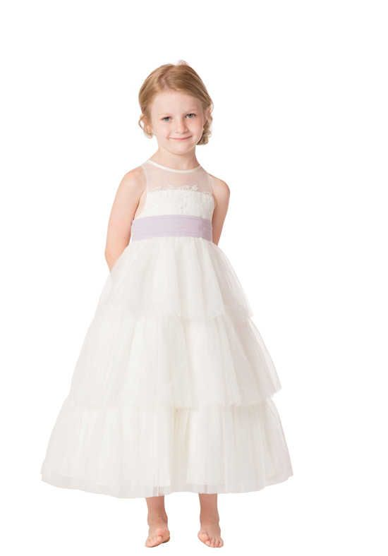 69248601f97 Bari Jay Flower Girls F6317 Flower Girl Dress photo