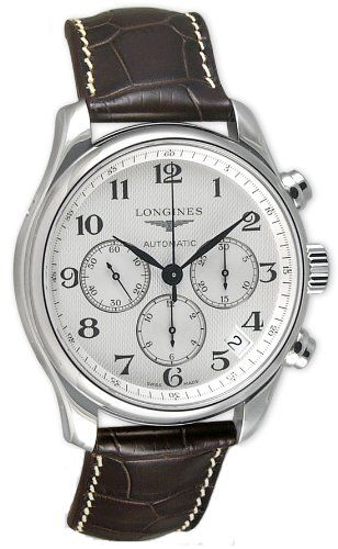 Longines Master Collection Chronograph Stainless Steel Mens Watch L26934783 Longines,http://www.amazon.com/dp/B000XUFZSY/ref=cm_sw_r_pi_dp_0DGktb0EERXFMY8J #luxurywatch #Longines-swiss Longines Swiss Watchmakers watches #horlogerie @calibrelondon