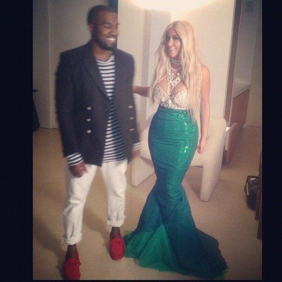 Kim Kardashian and Kanye West | Celebrity couple costumes ...
