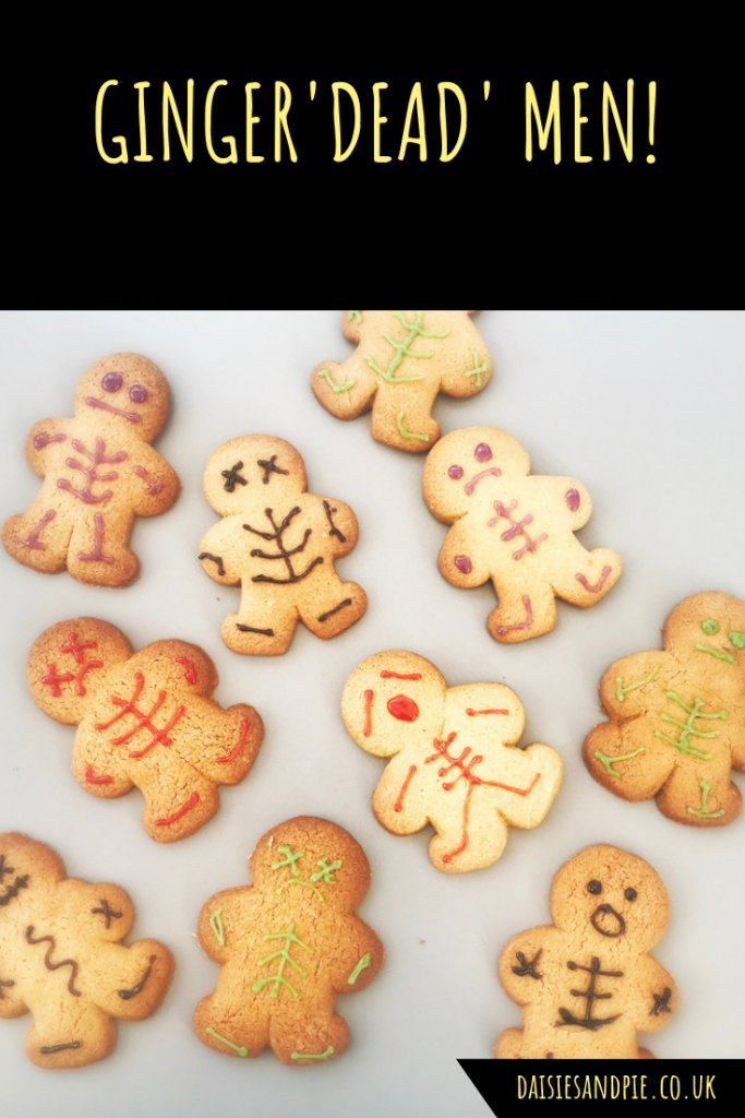 Halloween Gingerbread Men Recipe Halloween baking