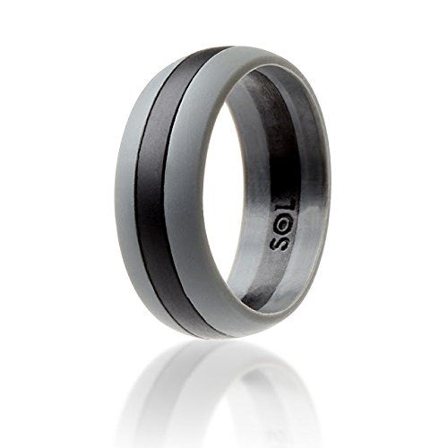 SOL Ring Gray with black in the middle Size 12 SOL httpwww