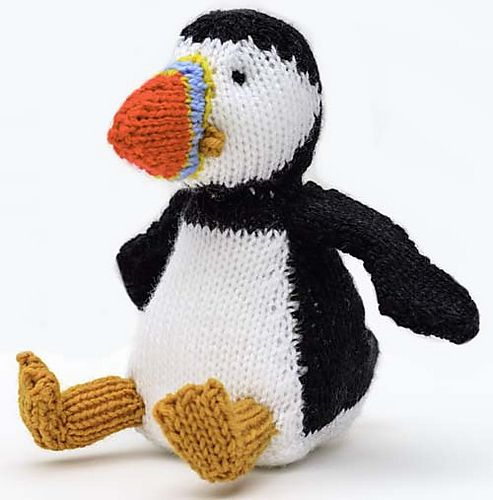 Ravelry: Puffin soft toy knitting pattern by Linda ...