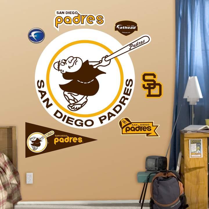 5e87752b366 Fathead San Diego Padres Retro Wall Decals
