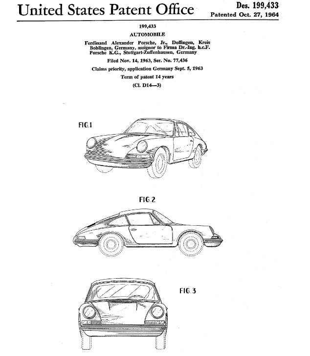 Summer Is Officially Here To Inaugurate It I Recommend A Drive In One Of These Porsche Patent From 1964 Vintage Porsche Porsche 911 Classic Porsche 911