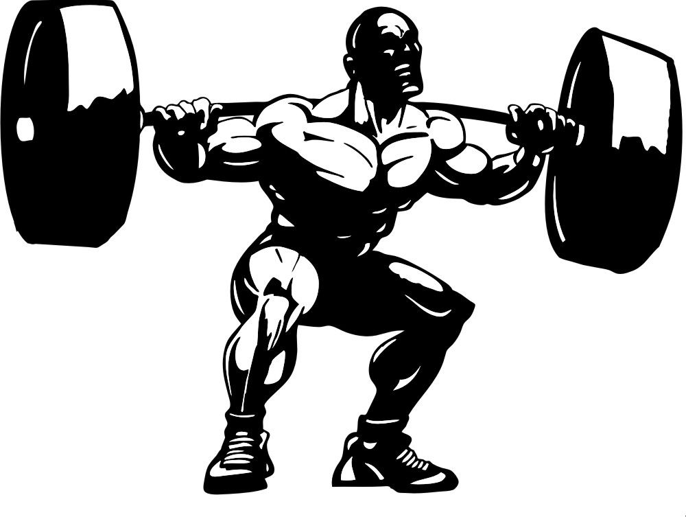weight lifting squat clipart 1 jpg 1000 753 angela t shirts rh pinterest com weight lifting clip art free weight lifting clip art free
