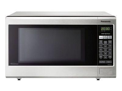 Panasonic Nn Sa651s Family Size 1 2 Cu Ft Microwave Oven With