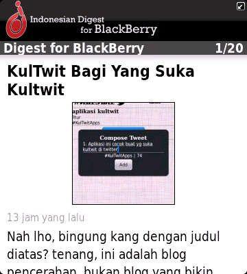 Baca Idberry Com Dengan Idberry Digest Blackberry Digest