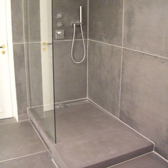 Bildergebnis für duschtasse aus beton bauen