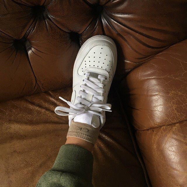 Nike Air Force ones sneakers